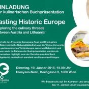 Buchpräsentation_Tasting Historic Europe